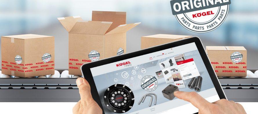 Kögel a optimizat magazinul online de piese de schimb Parts Shop