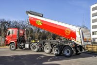 Robust Meiller semi-trailers for severe working conditions