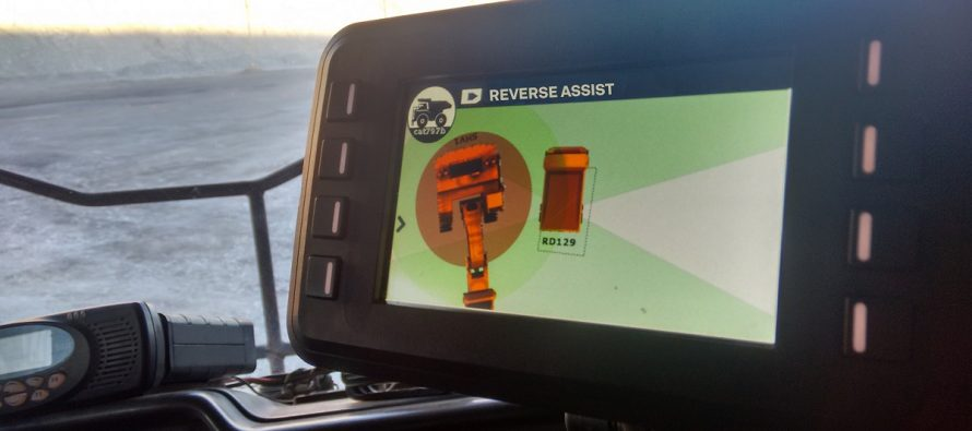 Un transport minier optimizat și mai sigur cu aplicația Reverse Assist