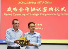 Acord strategic de colaborare între Rolls-Royce Power Systems și XCMG