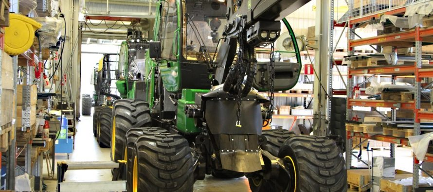 Deere and Joensuun Yrityskiinteistöt Oy to invest 20 million euros in the development of forest machine manufacturing