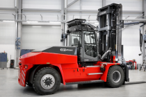 Kalmar is introducing the industry's first lithium-ion powered medium forklift
