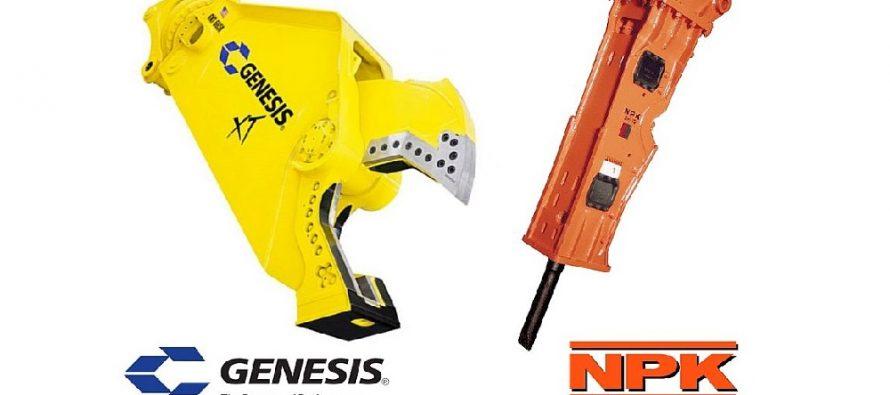 NPK Construction Equipment purchases Genesis Attachments