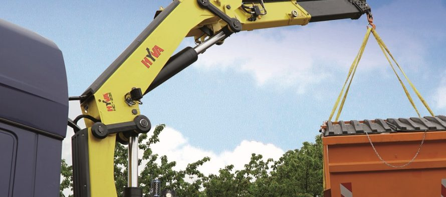 Hyva expands EDGE Line with the launch of 19-21 tm family cranes