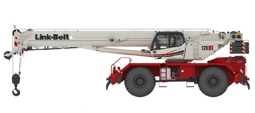 First glimpse of new 120-ton Link-Belt RT at Bauma 2019