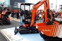 Kubota a atras atenția la Bauma 2019 cu noul minidumper electric și cu un prototip de miniexcavator pe GPL