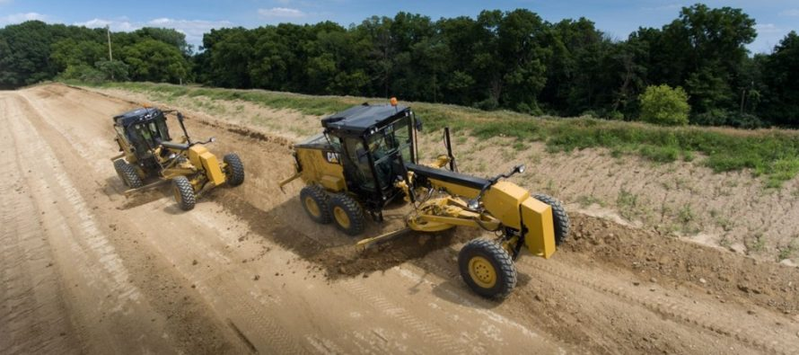 The new Next Generation Cat 120 motor grader designed to elevate production and lower costs