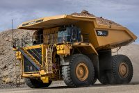 Cat 794 AC mining truck meets strictest U.S. emissions standards while maintaining high performance and reducing operating costs