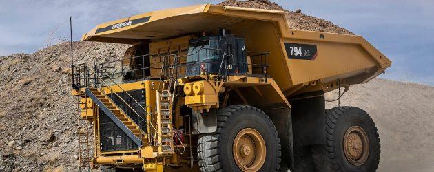 Camionul minier Cat 794 AC, acum cu motor Tier 4 Final, dar cu aceleași performanțe de top și costuri reduse de exploatare