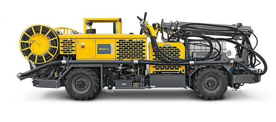 Epiroc își îmbunătățește mașina de torcretat beton MEYCO ME3