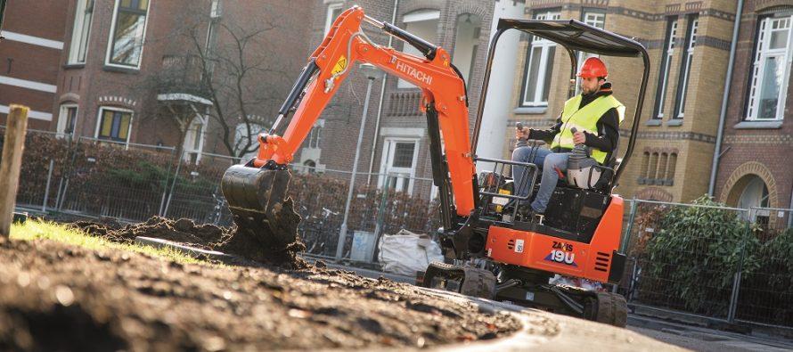 Hitachi revealed new ZX17U-6 and ZX19U-6 mini excavators at Bauma