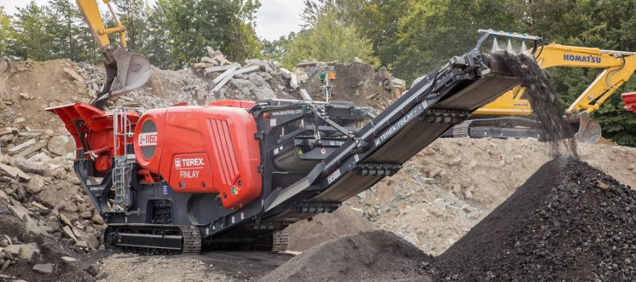 Terex Finlay J-1160 second-generation jaw crusher