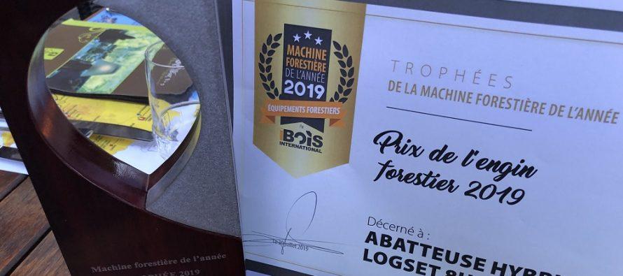 Harvesterul hibrid de la Logset, ales Forest Machine of the Year