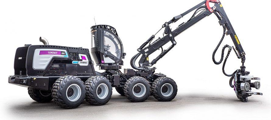 Un harvester puternic ce duce productivitatea la alt nivel: Logset 8H GTE Hybrid
