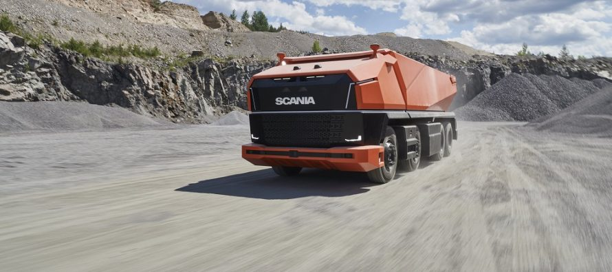 Scania AXL dezvăluie noul concept de camion autonom fără cabină