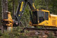 Tigercat lansează harvesterul pe șenile tip feller buncher 845E