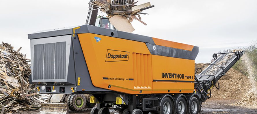 Doppstadt implements climate protection with state-of-the-art engine technology based on Euro V
