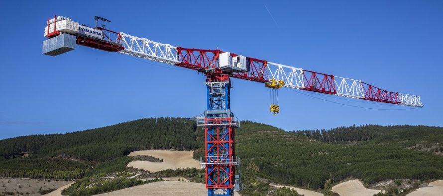 Comansa prezintă noua macara turn flat-top de mare capacitate 21LC1400