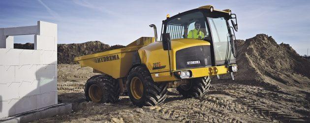 Hydrema stabilește noi standarde de siguranță cu noul dumper articulat