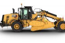 Caterpillar lansează reciclatorul de asfalt RM400