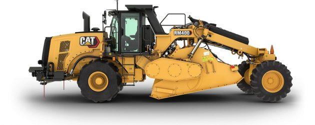 Caterpillar introduces the RM400 rotary mixer