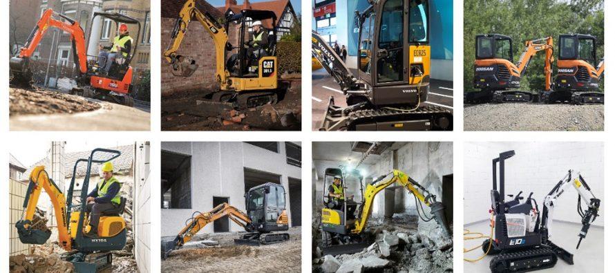 Miniexcavatoarele – utilaje mici cu impact mare în industria construcțiilor (Partea I)