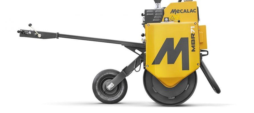 Mecalac reproiectează compactorul pietonal cu un singur tambur MBR71