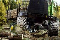Nokian Forest King TRS 2+ offers advanced features for six-wheel forestry machines