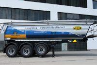 Meiller semi-trailer body floor with improved wear resistance