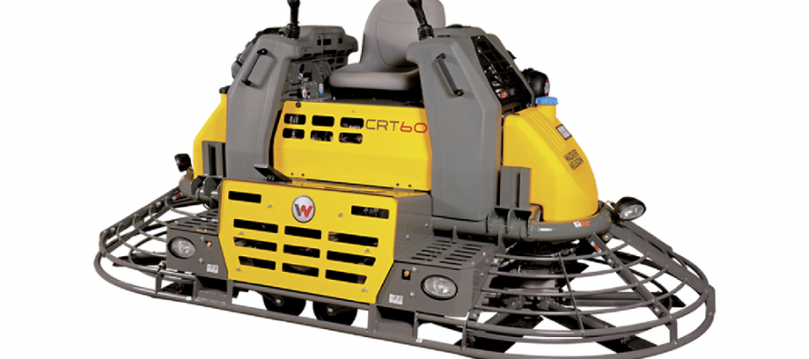 The Wacker Neuson Group sells its concrete power trowel business to Husqvarna Group