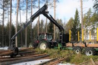 Kronos introduced Smart Boom Control on Gripto timber loaders