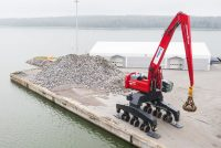 Mantsinen launches a new material handling solution for ports