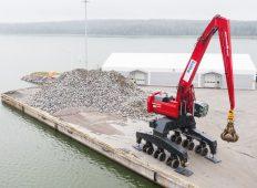 Mantsinen propune o nouă soluție pentru manipularea materialelor în porturi