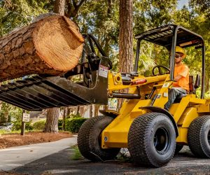 Morbark introduces new Rayco articulated loader and stump cutter