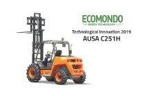 Noul stivuitor AUSA C251H, premiat pentru inovație tehnologică la târgul comercial Ecomondo