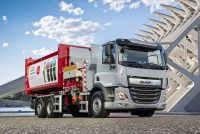 DAF CF Electric with 6×2 rigid chassis now available