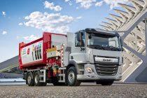 DAF Trucks prezintă noul CF Electric cu autoșasiu 6×2