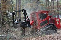 A light, efficient and flexible Prinoth mulching head for skid steer loaders