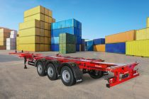 Șasiul ușor pentru containere Port 45 Triplex de la Kögel, premiat pentru sustenabilitate în transporturi