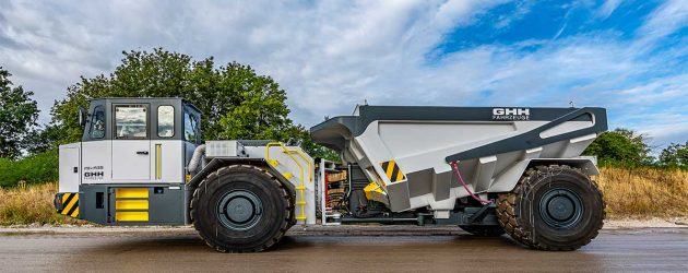 GHH upgrades the MK-A35 underground truck with Stage V compliant engine