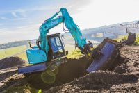 Kobelco pășește în clasa excavatoarelor medii cu modelele SK75SR-7 și SK85MSR-7