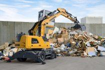 Noile utilaje de manipulare a materialelor Liebherr, pentru aplicații de reciclare