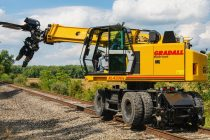 Utilajele Gradall TrackStar pentru întreținerea căilor ferate, acum cu noi opțiuni