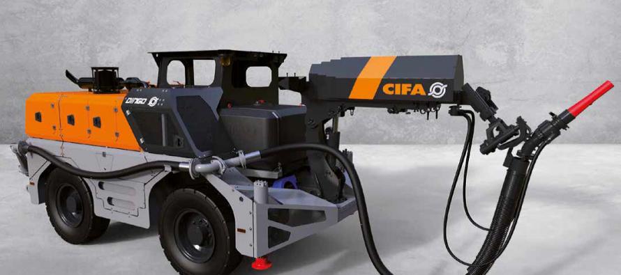 Soluțiile CIFA pentru lucrări subterane sunt extinse cu linia de utilaje Dingo