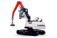 Link-Belt 250 X4 material handler and scrap loader deliver more performance and productivity