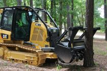 Cat D3K2 mulcher features productive design with operator safety and comfort as priorities