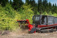 Prinoth, utilaje performante pentru mulcire, curățarea și pregătirea terenului