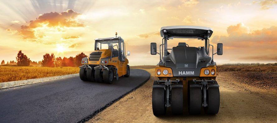 Seria HP – noua generație de cilindri compactori statici cu pneuri de la Hamm