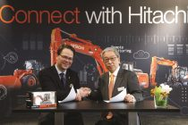 HCME și ABAX conectează miniexcavatoarele Hitachi la sistemul de monitorizare Global e-Service