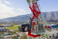 The first Terex Hydraulic Luffing Jib tower crane: CTLH 192-12